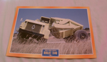 Berliet TX40 1964 Ground Mover Truck framed picture